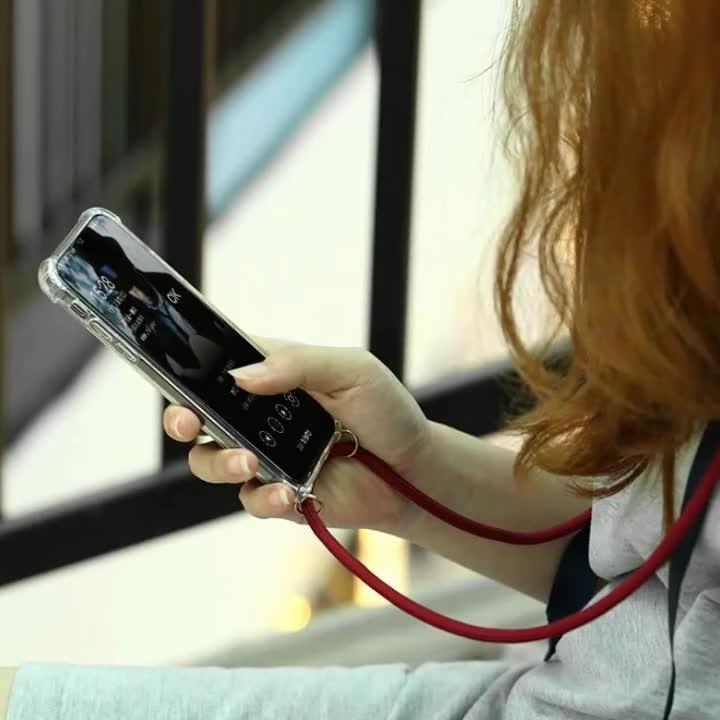 2019 yeni gelenler cep telefonu aksesuarları kolye telefon kılıfı kullanılan omuz iphone x lüks kılıf için