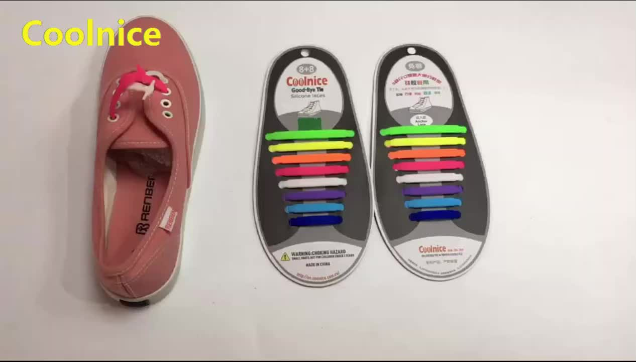 2019 Hot Sale Elastic No Tie Shoelaces By Coolnice Outdoor Sports Shoes Without Laces