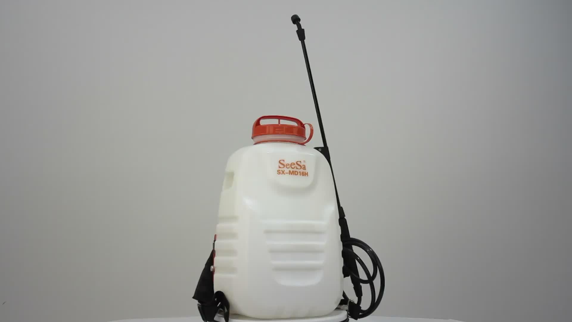 16L Landwirtschaft Rucksack Elektrische Batterie Sprayer Pumpe