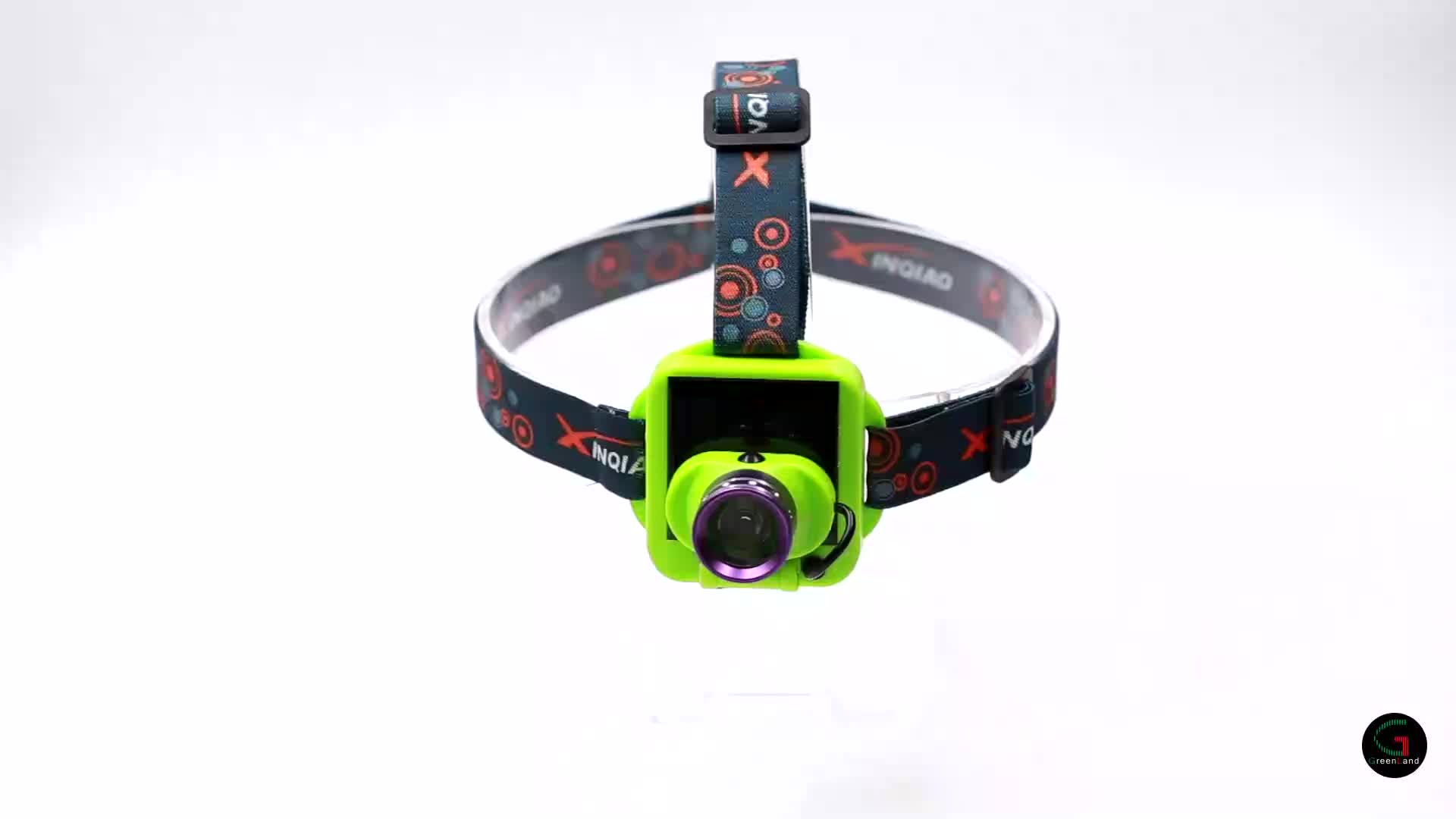China supplier high quality aluminum and ABS solar energy USB 500 mAh rechargeable head torch LED lighting headlamp