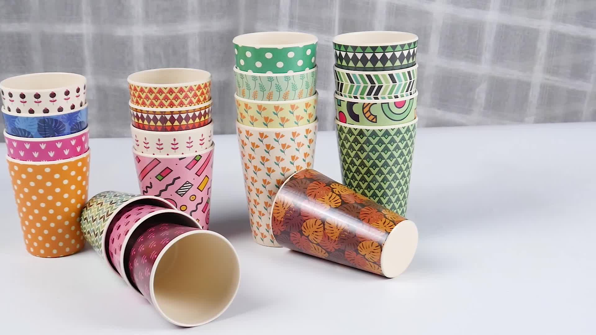 Unbreakable  fiber coffee cup bamboo fibre reusable bamboo reusable coffee cup