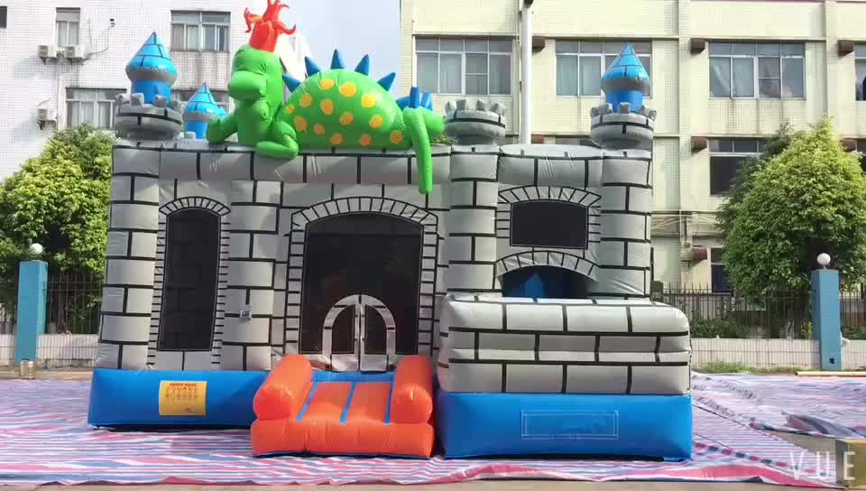 China Castle Commercial Inflatable Combo Bouncy Castles