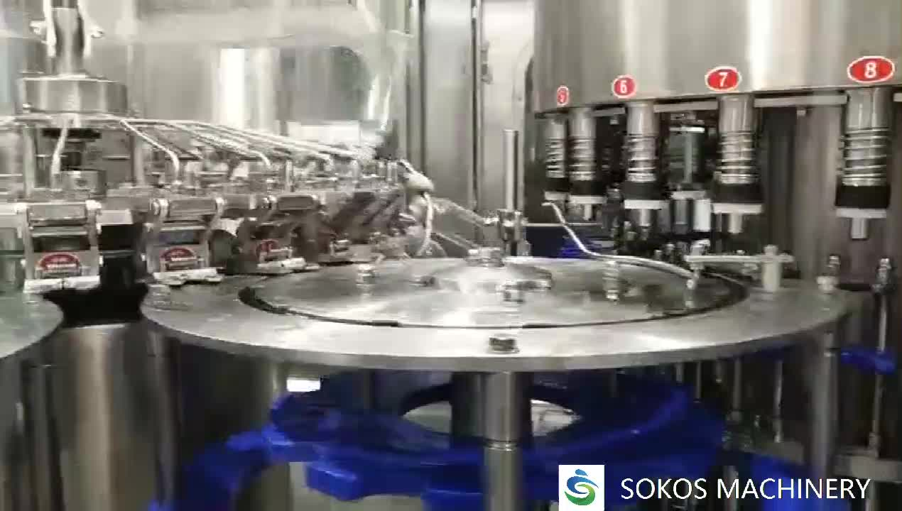 factory price full automatic mineral pure water filling machine for bottling plant