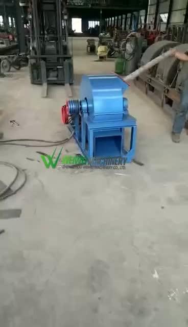Fine finished wood powder making machine