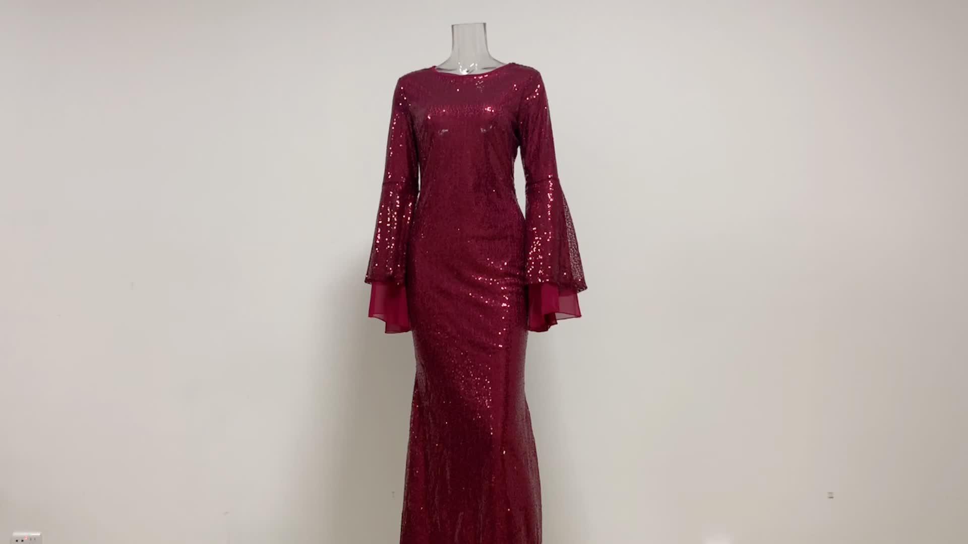 Moderne Mode Islamitische Kleding Turkije Avondjurken Luxe Lovertjes Rok Abaya Kaftan Moslim Jurk Islamitische Kleding