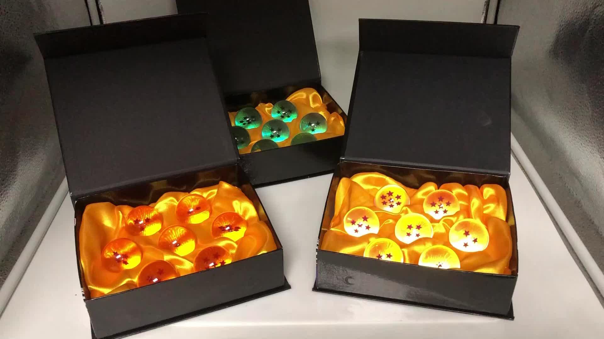 Wholesale Dragon Ball Glass Dragon Ball Crystal Balls Set