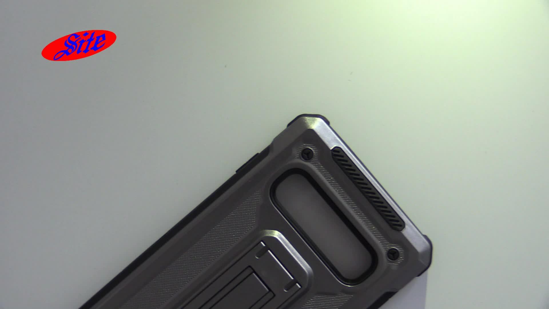 [Site] Robuste robuste Dual Layer-Abdeckung für das Coolpad Revvl Plus C3701A-Handygehäuse mit Ständer