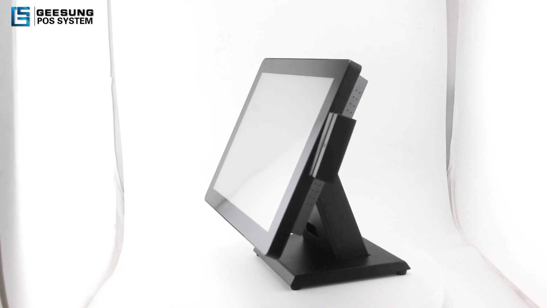 17 Inch Point Of Sale Pos Complete System include Desktop Computer/Printer/Cash drawer/VFD display