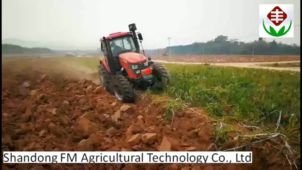 Factory Direct New Design 90HP TB 4WD Strong Power Farm Multi-function Tractor