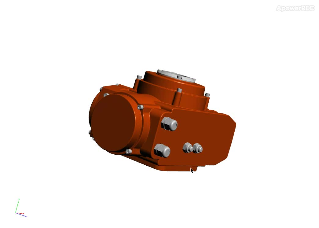Wenzhou Manufacture electric flange actuator ball valve