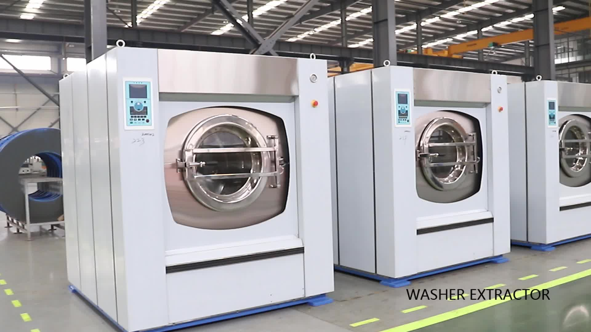 Full Suspension auto washing machine Washer Extractor ( XGQ-80F ) from Sealion