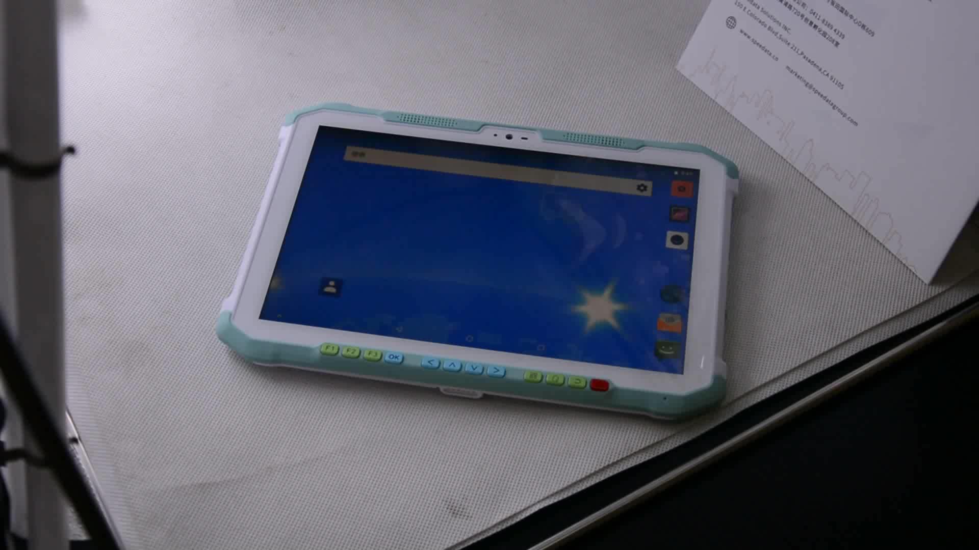 Gồ ghề Máy Tính Bảng PC hệ điều hành android 2d máy quét mã vạch cầm tay uhf rfid reader