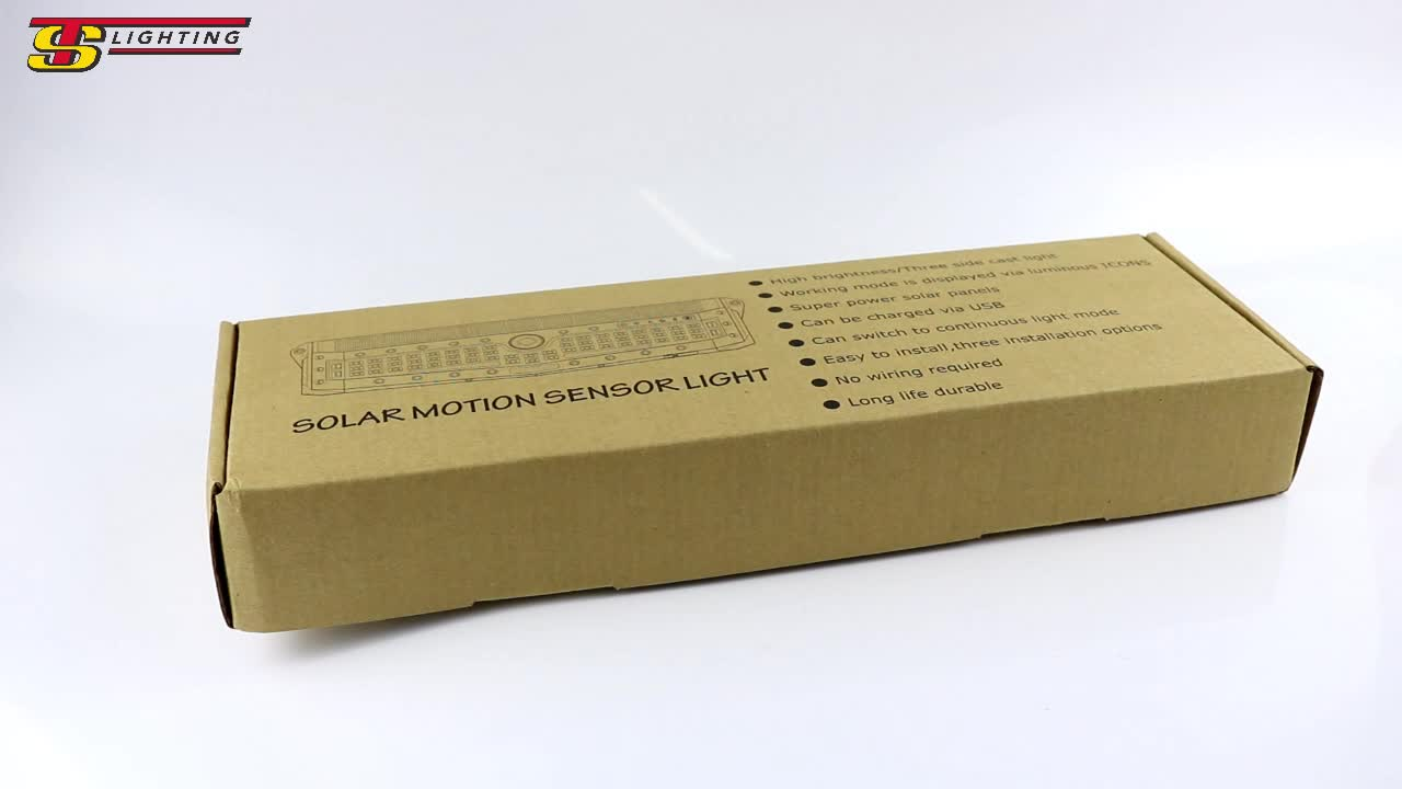 High Quality Power Outdoor Waterproof Led Solar Motion Sensor Lights Home For Home and Garden