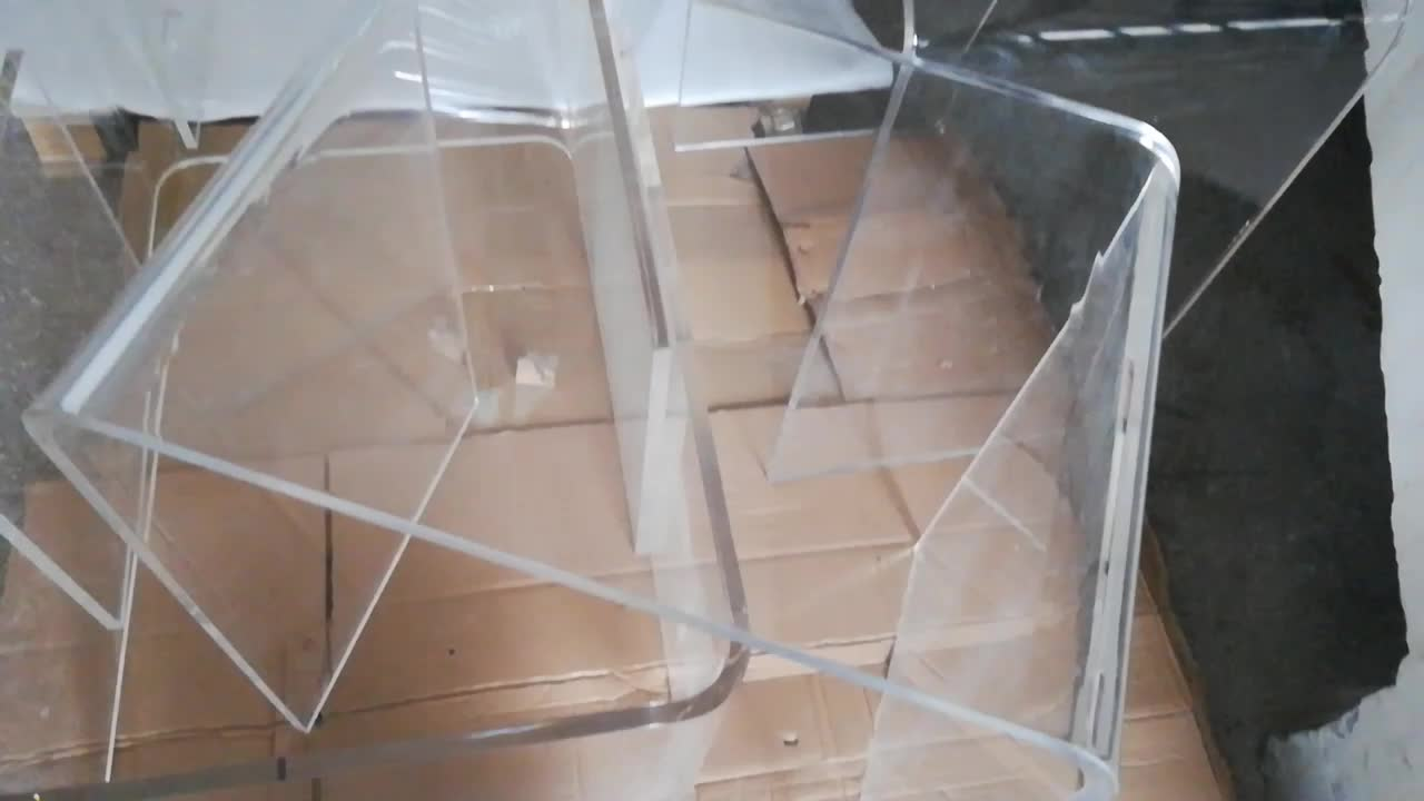 Hot Sale Transparent Acrylic Coffee Table