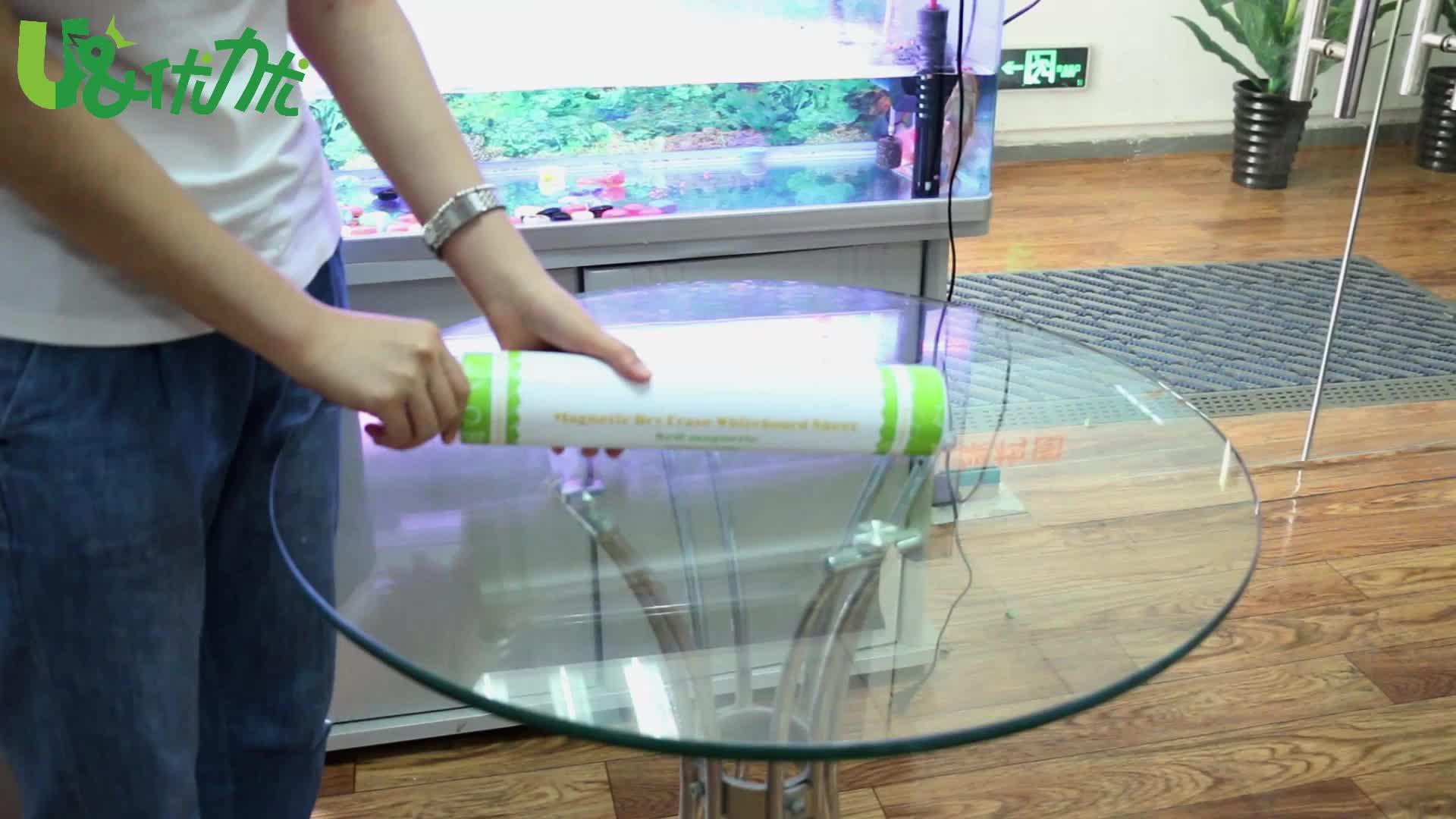 Zachte magnetische whiteboard lakens droge wissen boord voor keuken