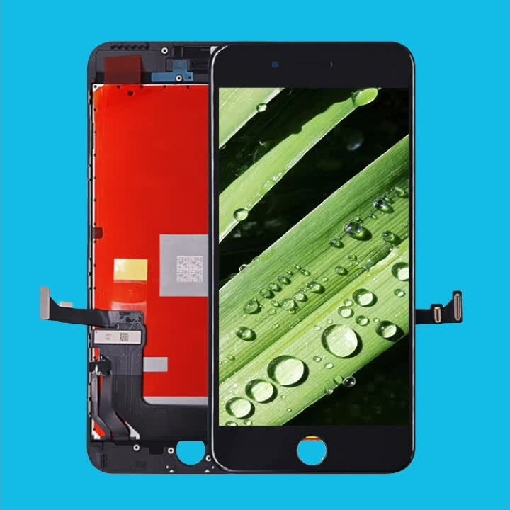 AAA+ LCD display for iPhone 7 Plus, for iPhone 7 plus glass screen,Factory wholesale