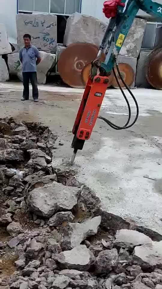HMB escavadeira hidráulica rock drill martelo disjuntor concreto
