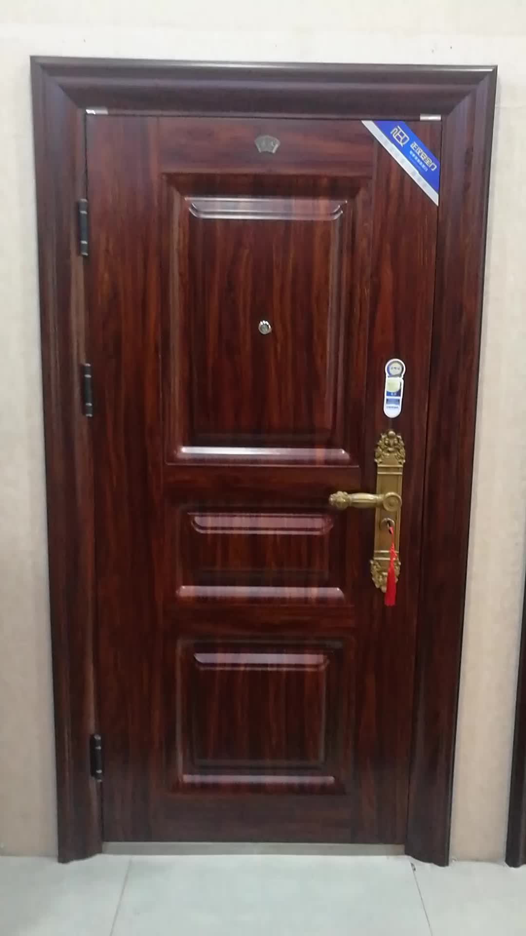 Residential House Standard Size Front Main Steel Security