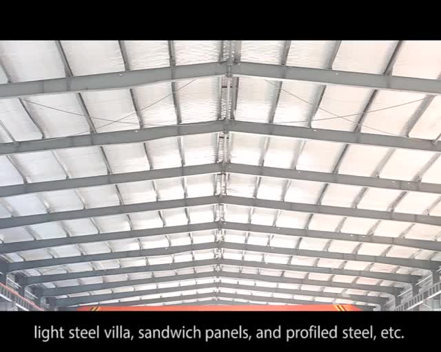 DFX China Hight Quality Prefabricated Warehouse Workshop Building Steel Structure