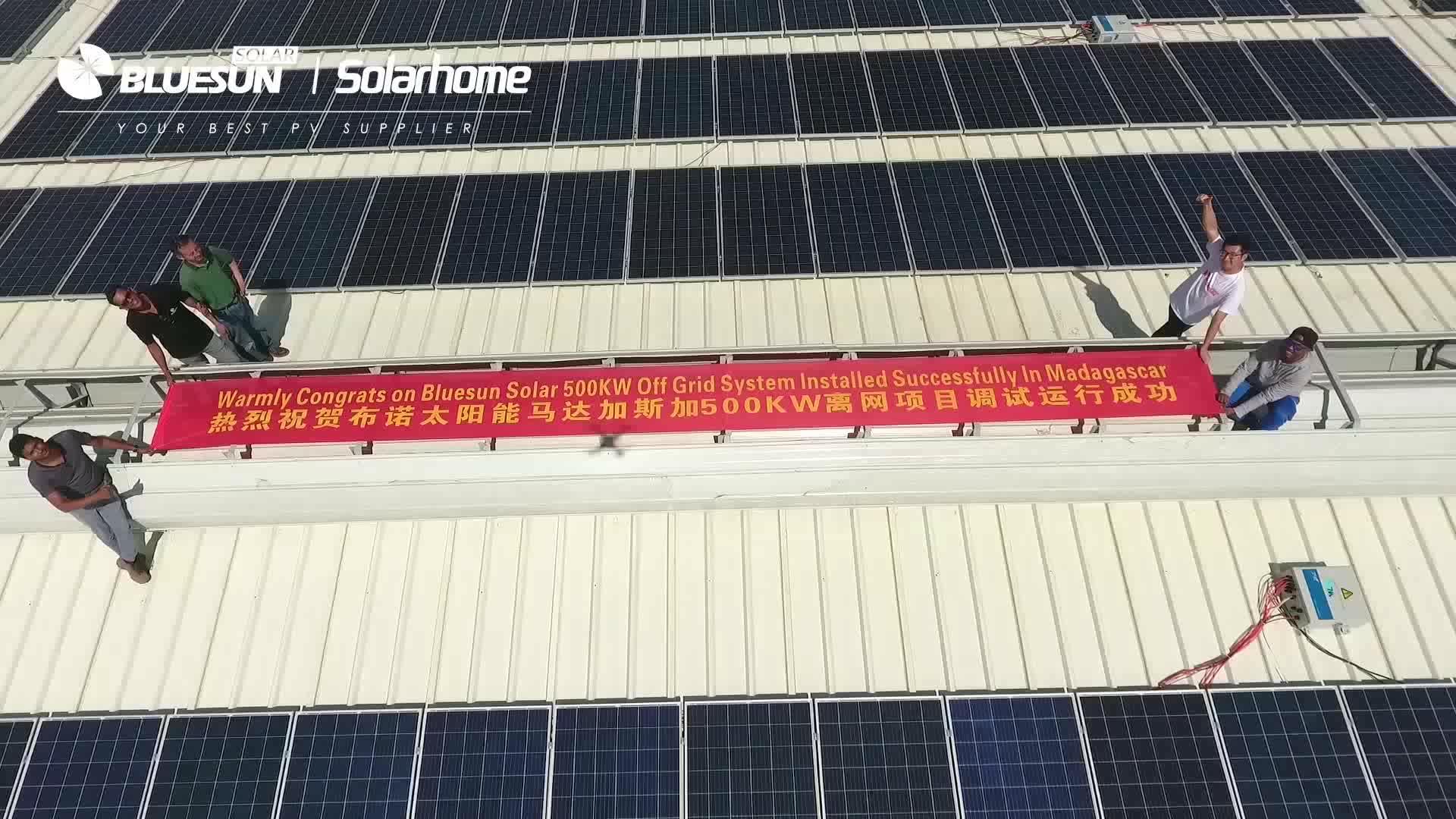 Solarcity 10kw ev güneş enerjisi sistemi 10kw ızgara bağlı güneş paneli sistemi tam sertifika ile