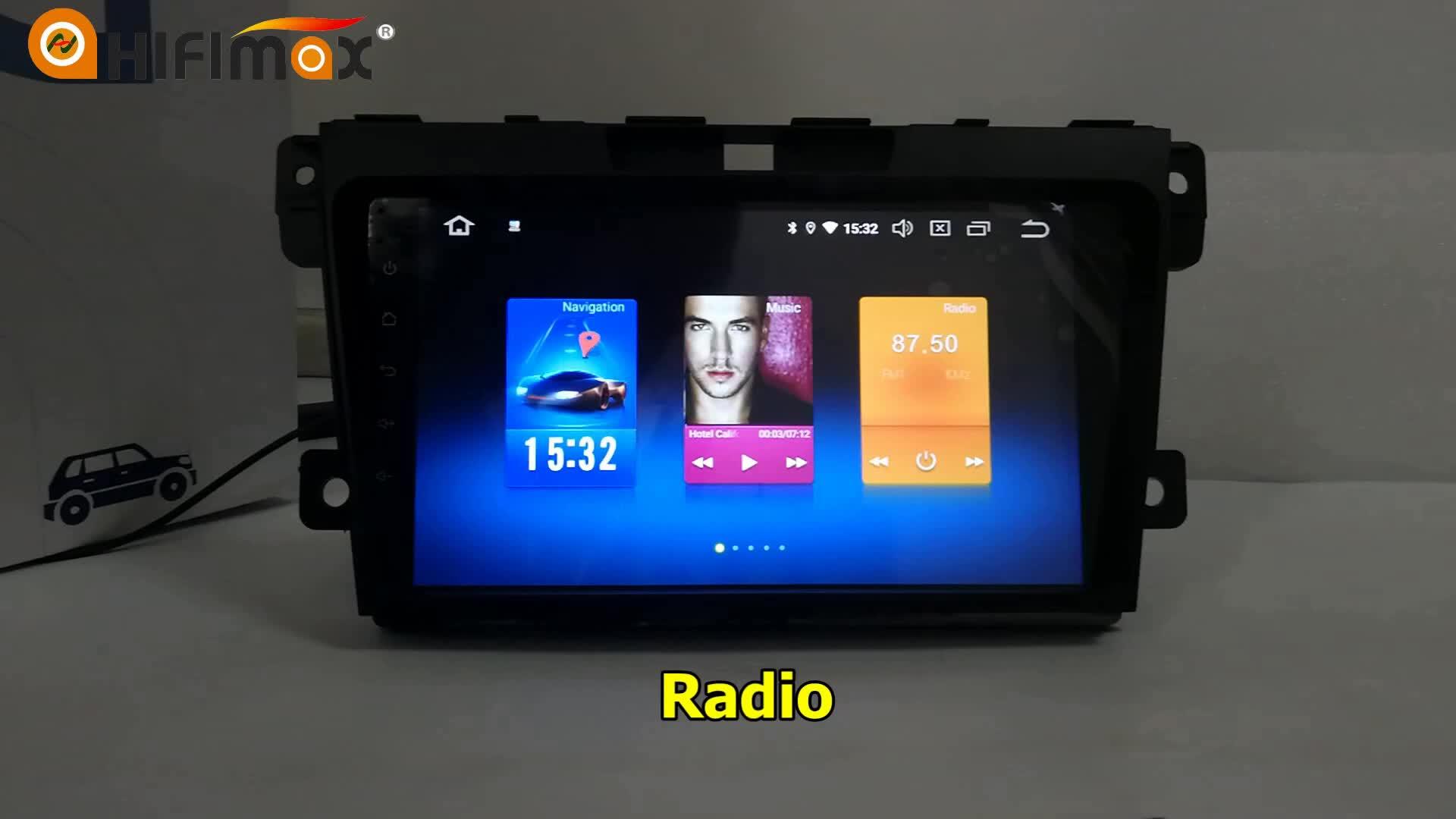 HIFIMAX Android 8.0 dello schermo di tocco di lettore dvd dell'automobile per Honda CIVIC 2016 gps di navigazione bluetooth kit per auto per honda civic 2016