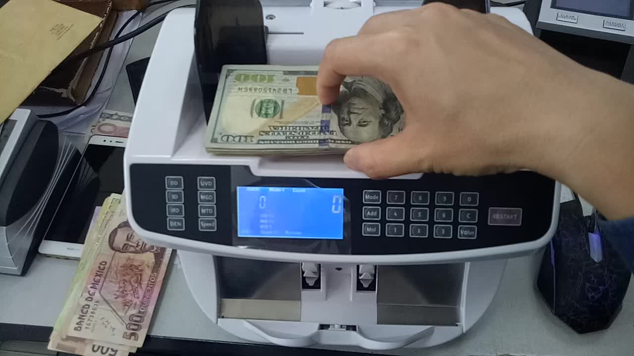 EC900 fast Money Counting/bill value counter Machine BankNote Counter  Currency detector ,Cash, value mix currency counter, View Counting machine,