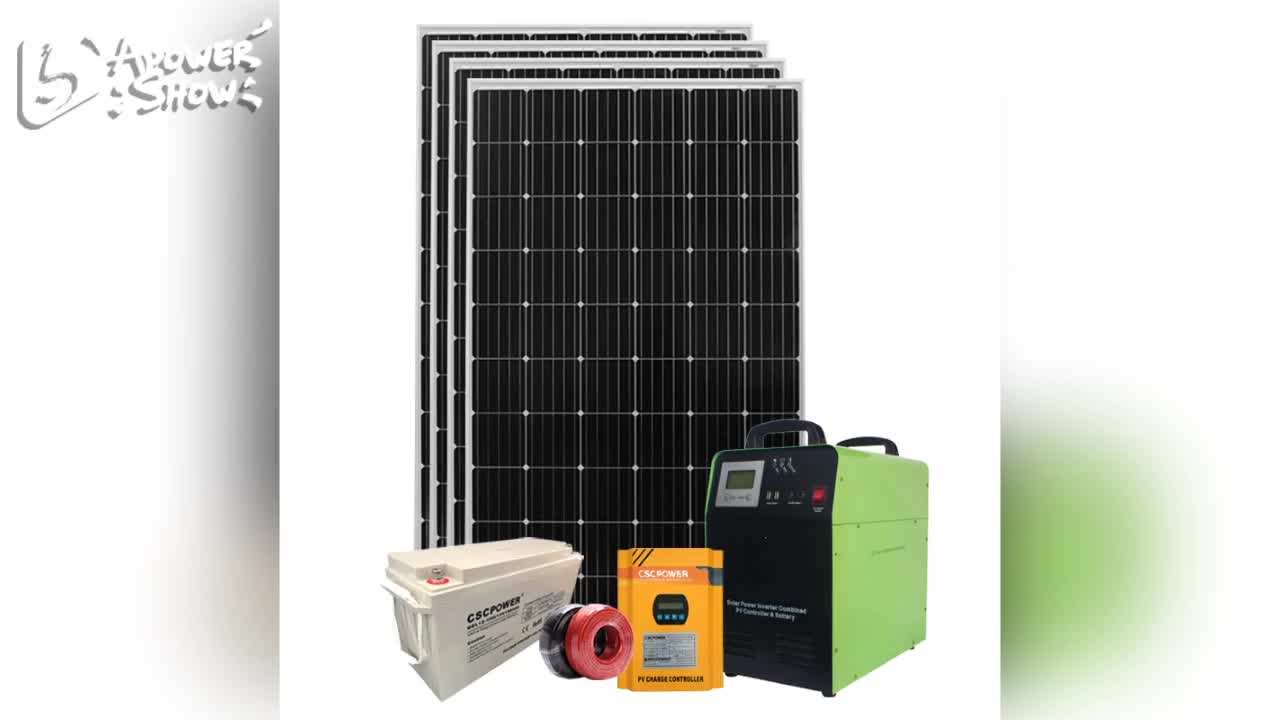 High efficiency 10kw 5kw 3kw solar power system for residential solar energy also called home solar system complete