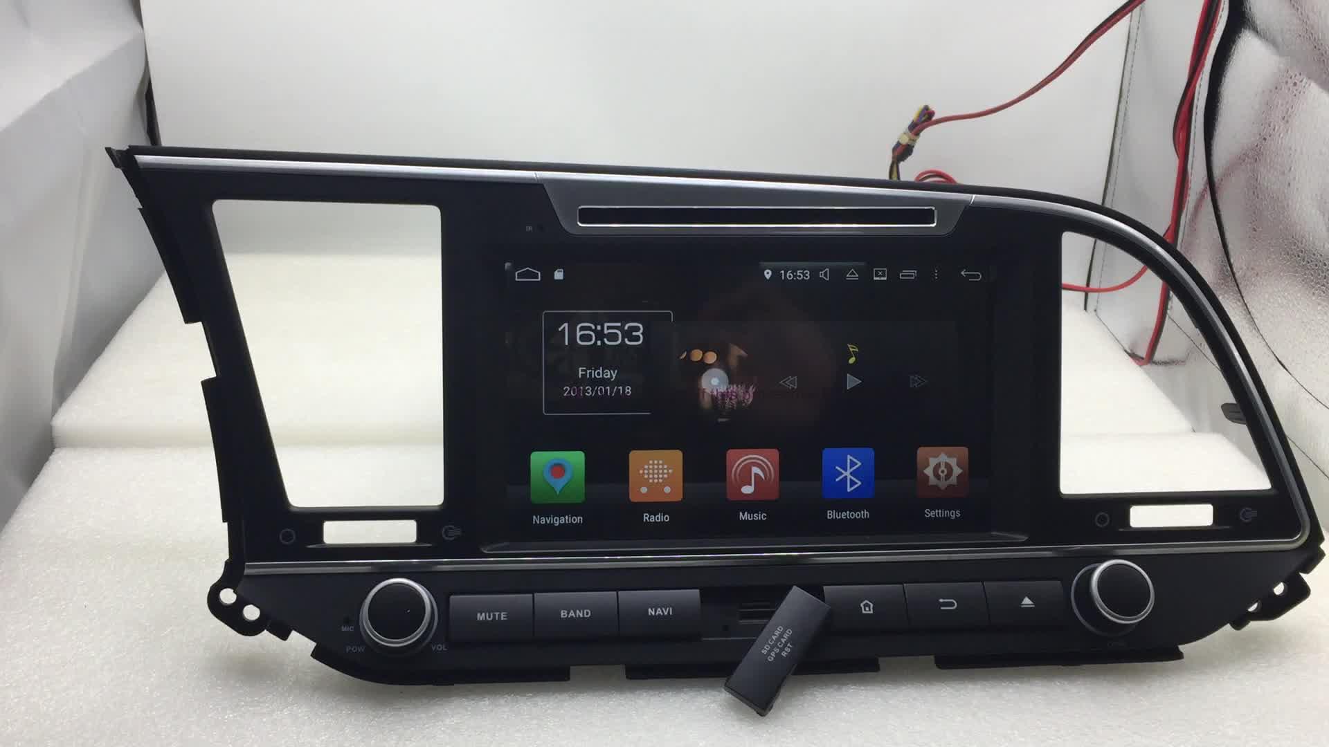 9 英寸全触摸屏 android 8.0 收音机本田 crv 2017 车载 dvd gps 导航系统