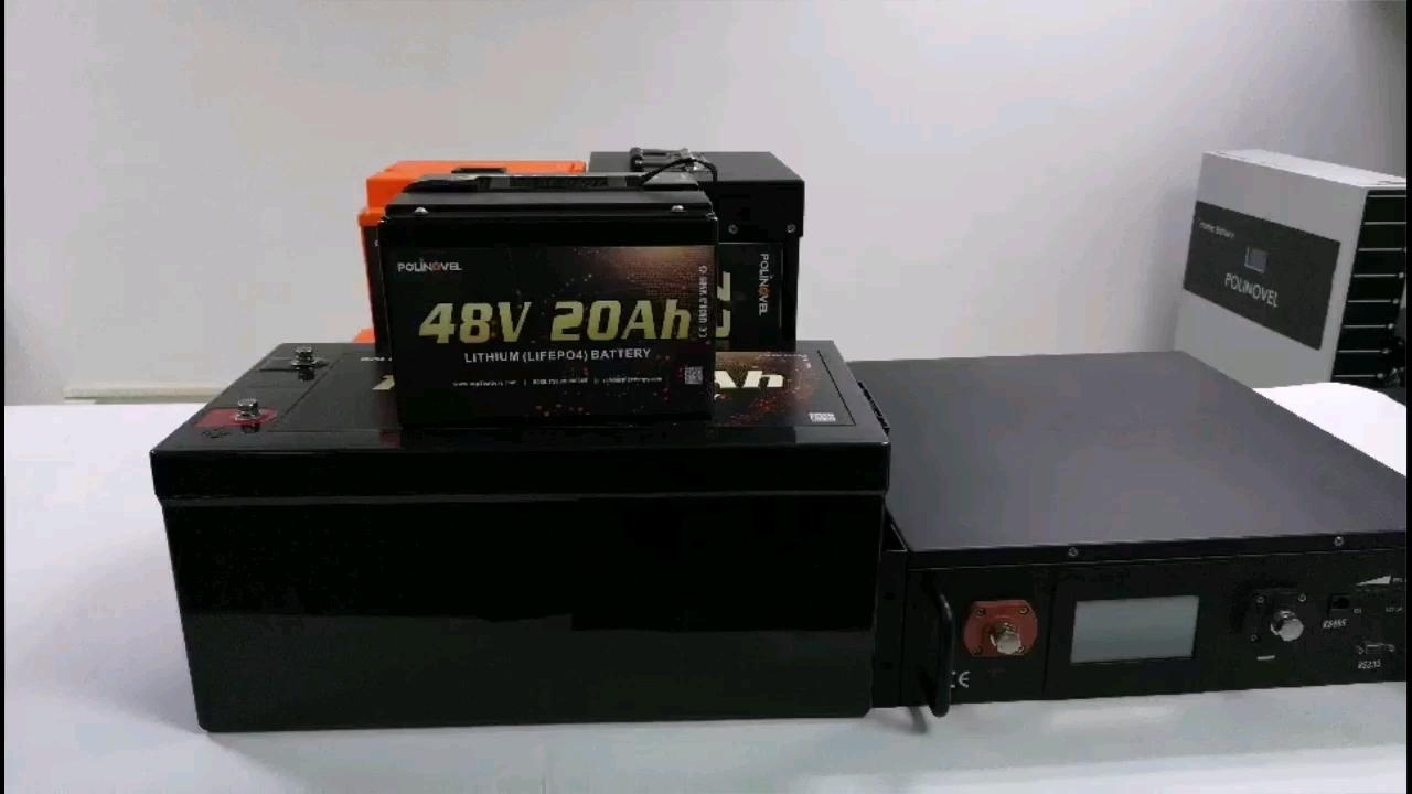 Polinovel GC Golf Cart EV Solarboot Lithium 72v Batterie 36v 96v 5000w 60v 48v 100ah Lifepo4