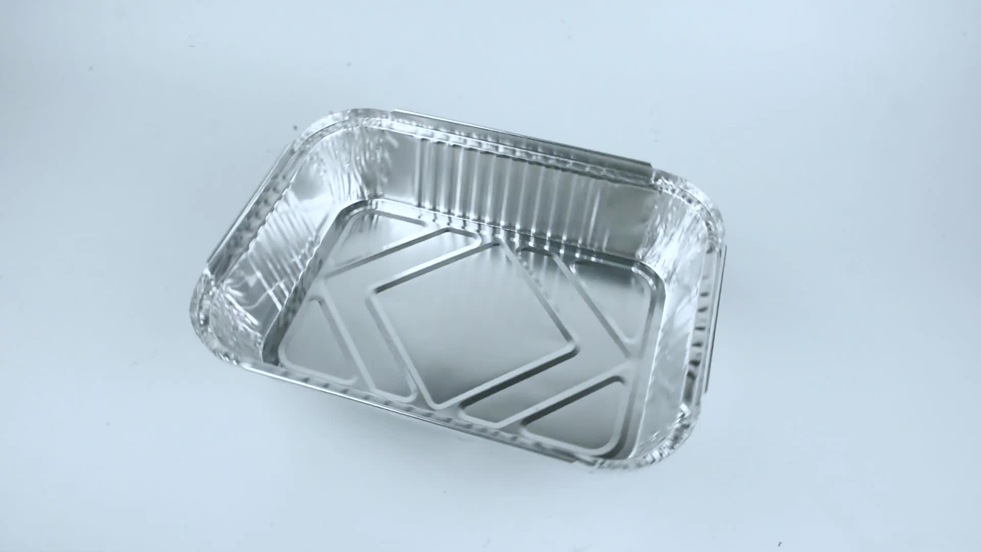 10 ''X 7.5'' X 2.5 ''ทิ้ง Heavy Duty หนาอลูมิเนียมฟอยล์อาหารกระทะพร้อมฝาปิดบอร์ดสำหรับทำอาหารย่างเบเกอรี่