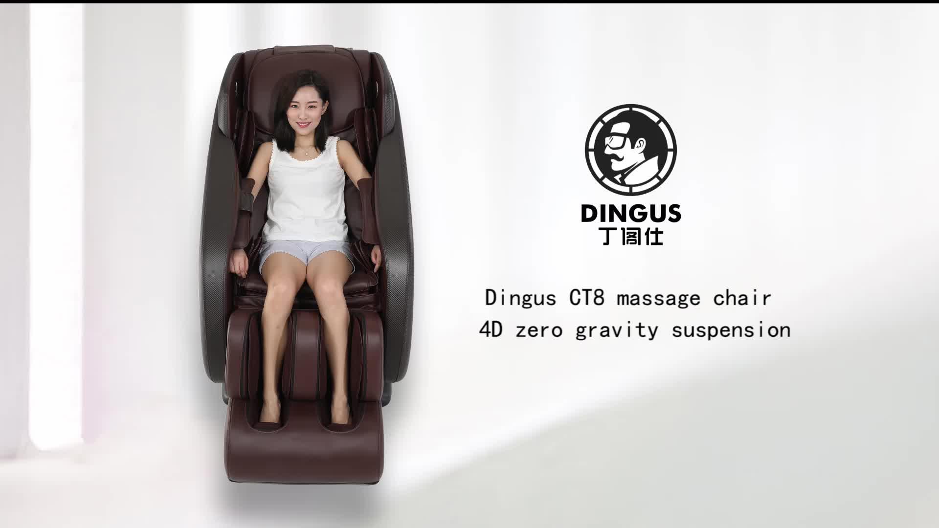 Không trọng lực 4D nhà văn phòng đầy đủ cơ thể massage ghế