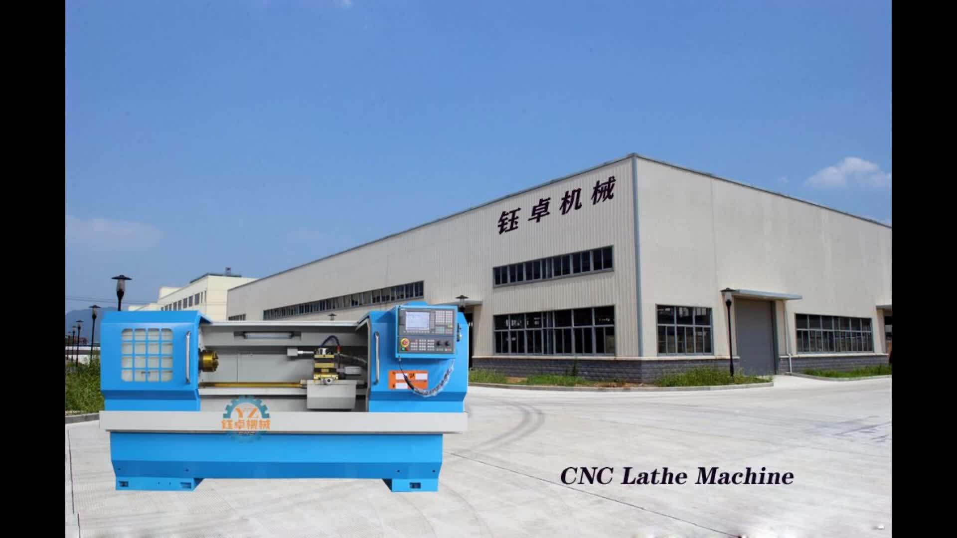 CK6180 भारी शुल्क सीएनसी खराद सीएनसी धातु खराद मशीन