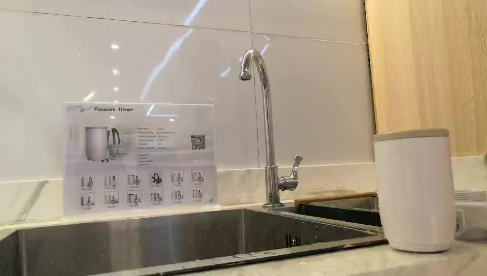 Hot Sale Alkaline China Good Home Water Purifier Filter Water Tap faucet with Replacement Candle evkon