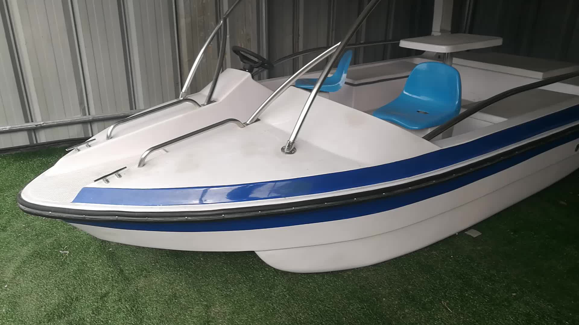 6-8 person automatic drainage electric boat