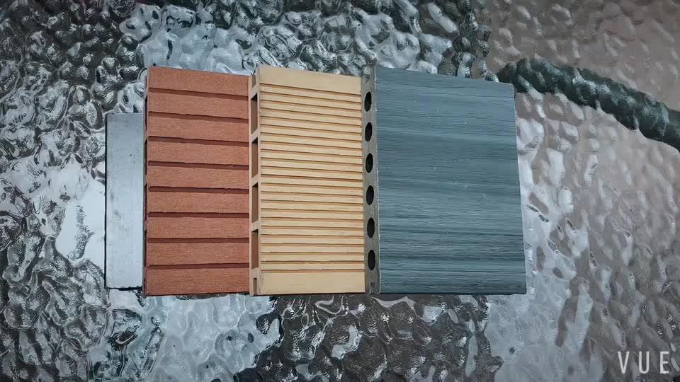 Recycled Composite Decking Board Deck Covering Material