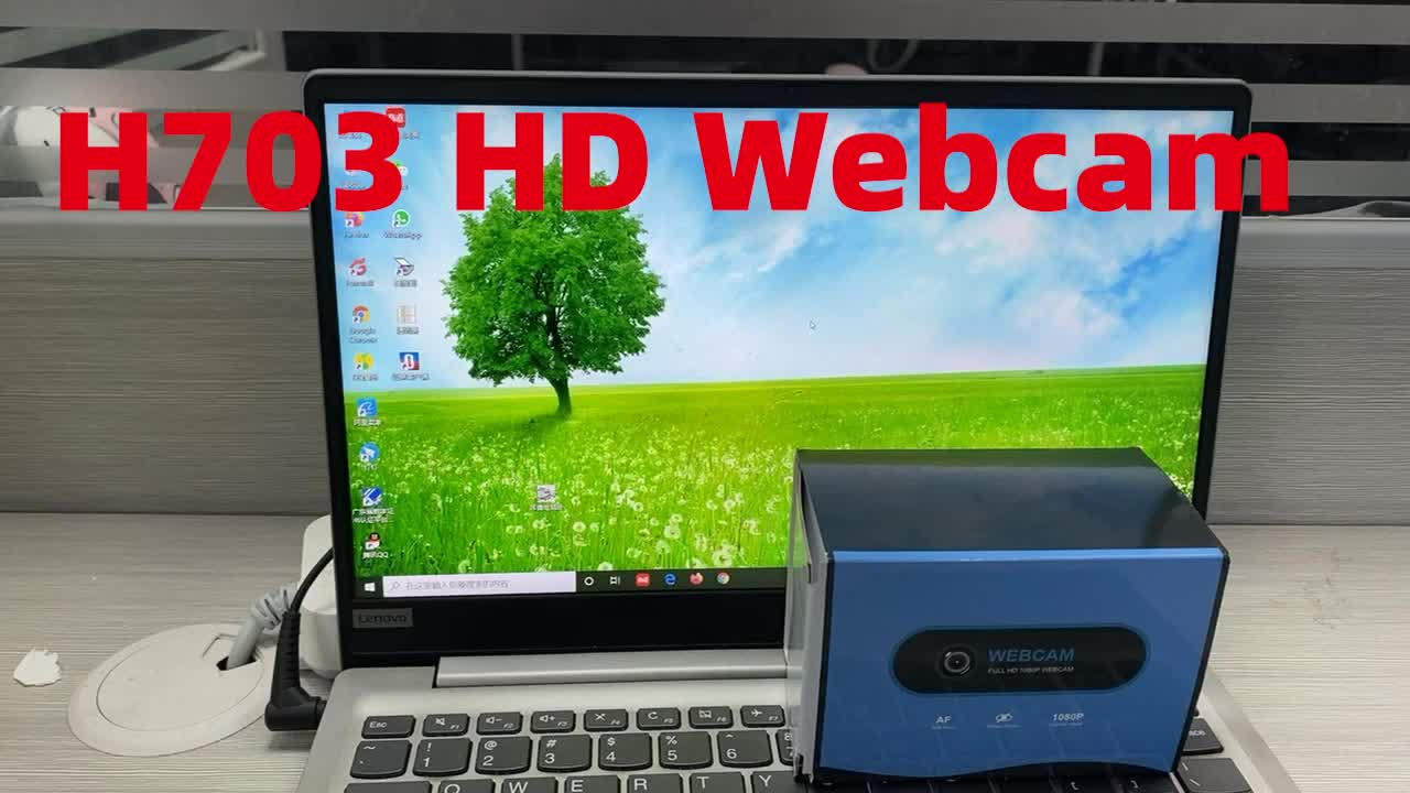 Luckimage 1080P 30fps Tập Trung PC USB 2.0 Webcam Xây Dựng Trong Mic USB Lái Xe Miễn Phí
