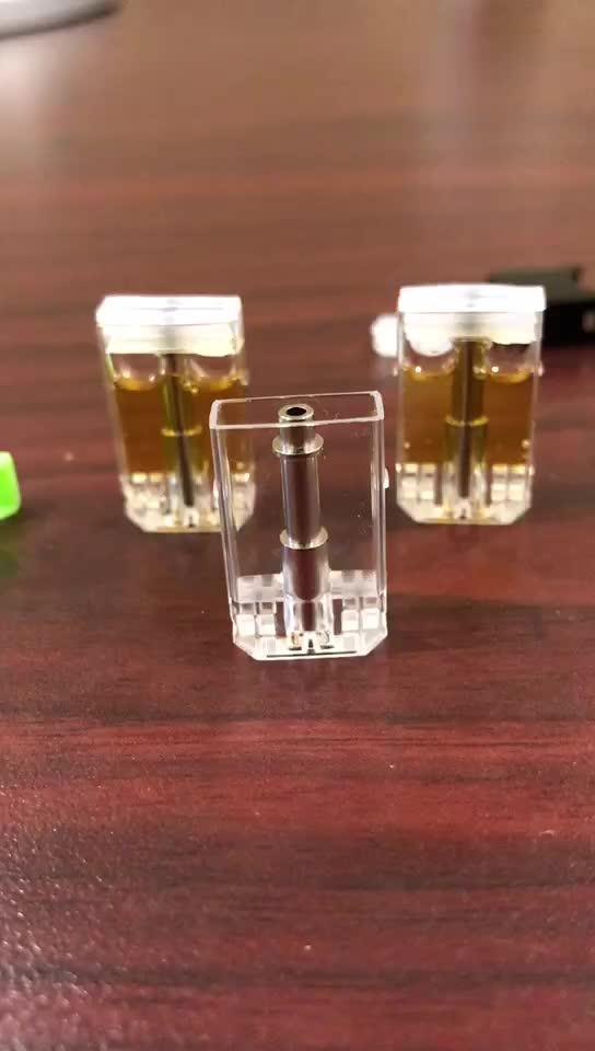 使い捨て cbd オイル気化器ペンカートリッジプラスチックセラミック空の互換ポッド cbd 吸うポッド