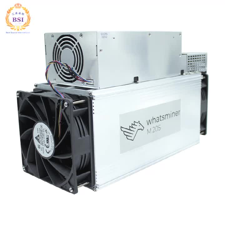 Brand new BTC Whatsminer M21S 56Th/s with PSU ASIC miner for SHA-256 Algorithm mining Bitcoin 1860W (+-10%) blockchain