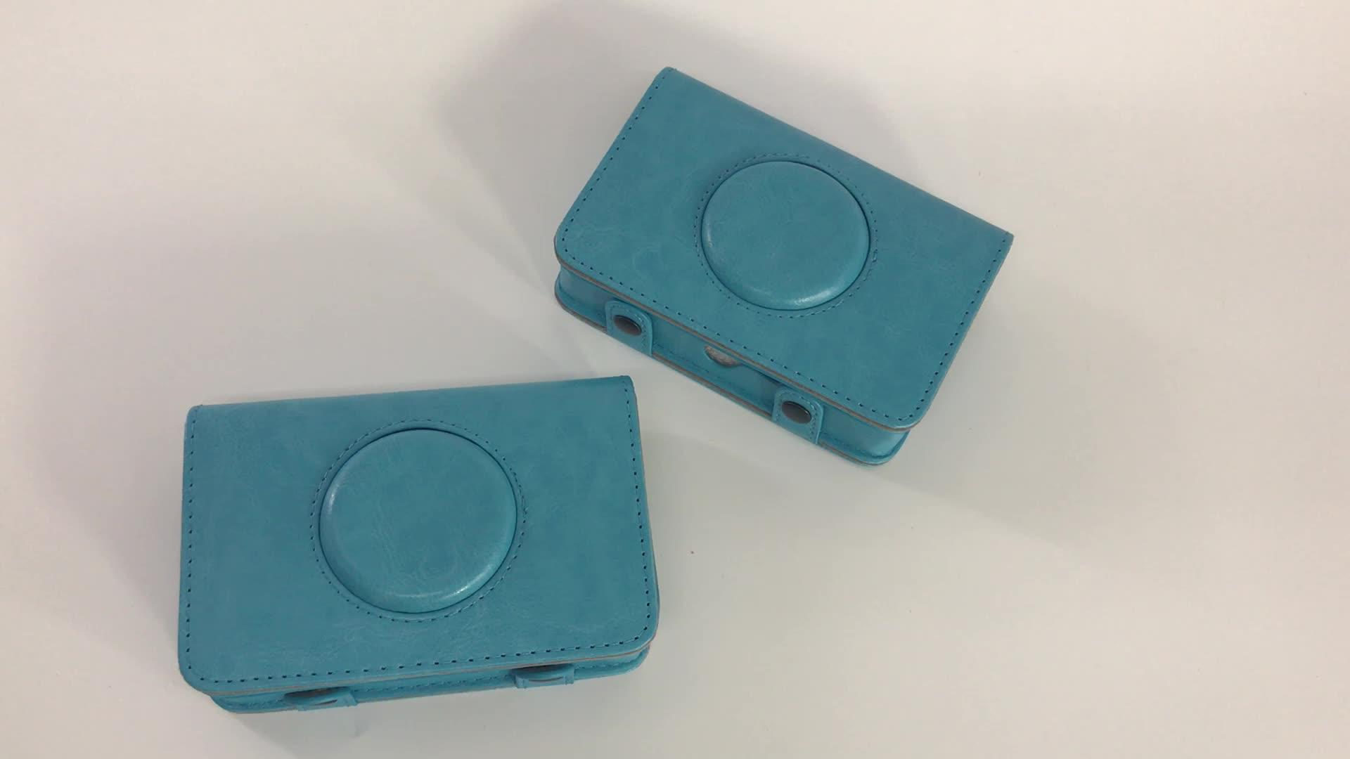 Mini di colore Puro sacchetto dell'unità di elaborazione di protezione custodia per fotocamera Digitale per polaroid Snap macchina fotografica Istantanea