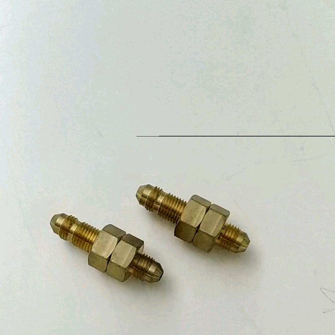 חיבור מהיר פליז/אלומיניום חוט צינור גינה מתאם