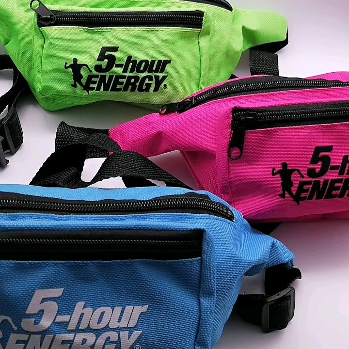 Promotion Multicolor Small MOQ RTS-product Coloured Waist Bag