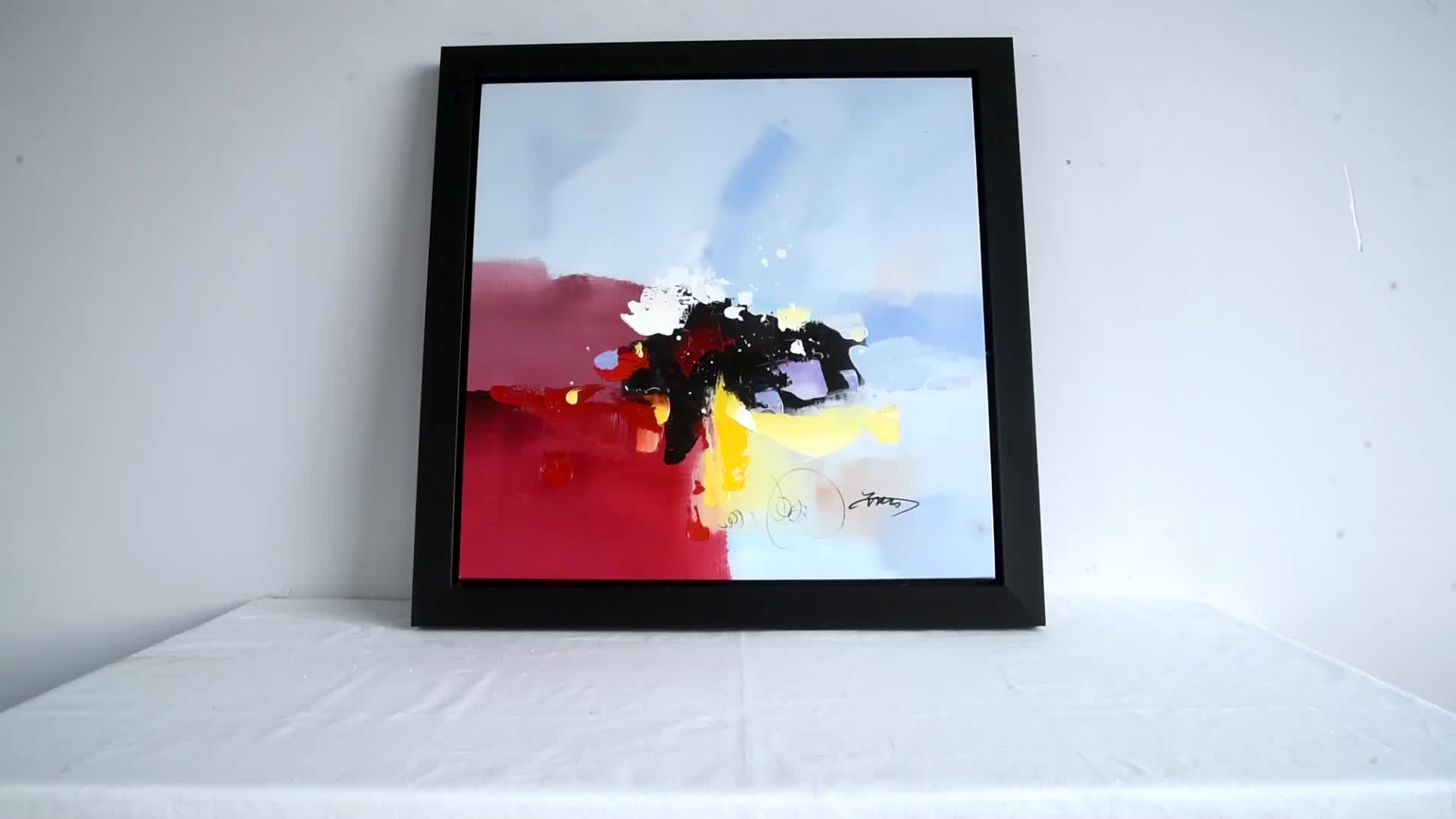 Original Oil Painting on Canvas Colorful Abstract Oil Painting Portraits