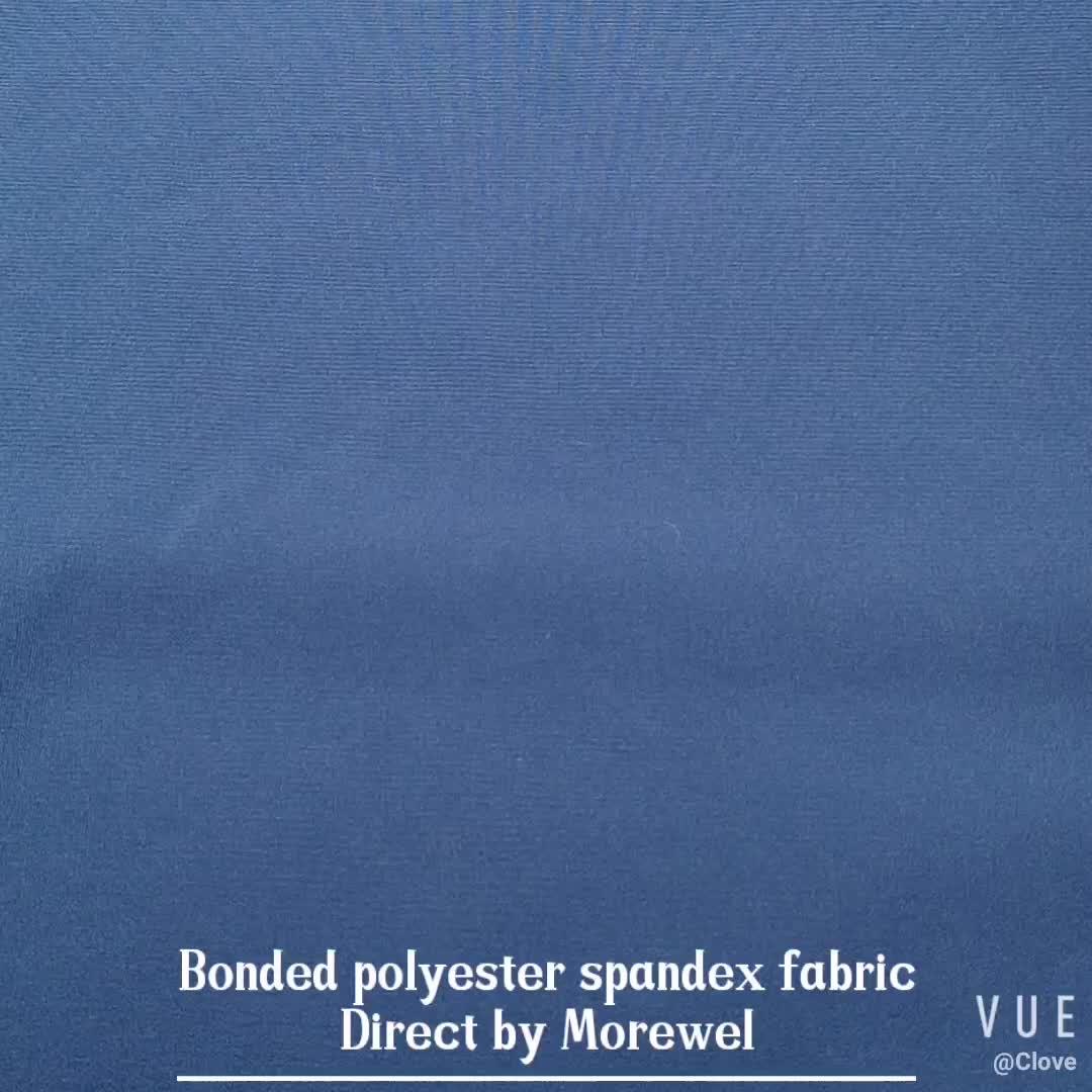 Polyester Spandex bonded stoff Polyester Spandex bonded polar fleece stoff shell für outwear casual wear