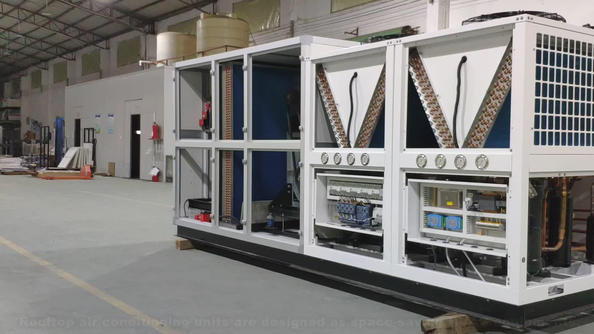 OEM/ODM en la azotea acondicionador de aire central de sistema 5 de 10 toneladas de los precios de los