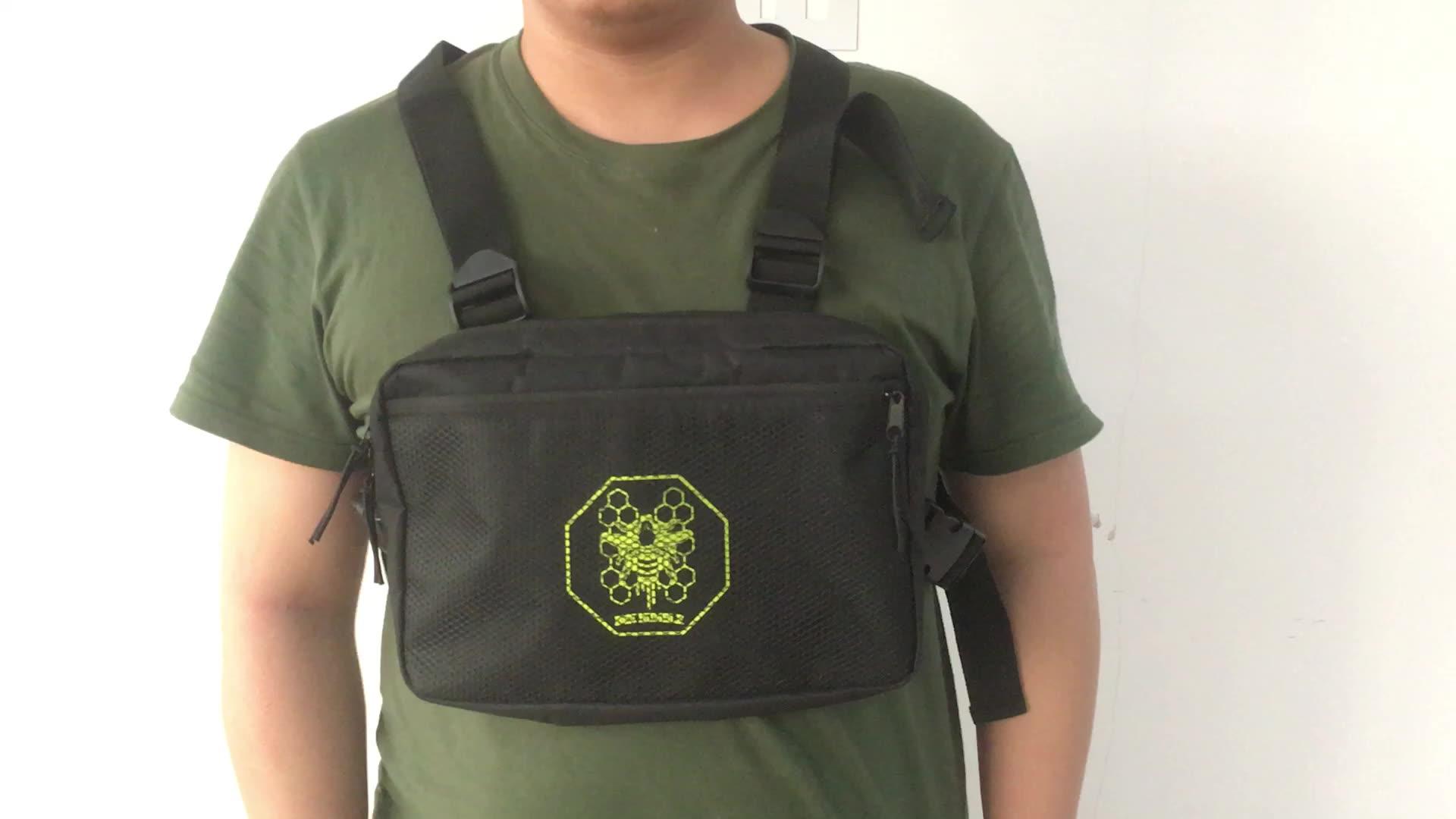 Изготовленный на заказ регулируемый с модным буквенным принтом сумочки через плечо спортивная сумка на плечо, сумка через плечо, установка для мужчин слинг груди мешок