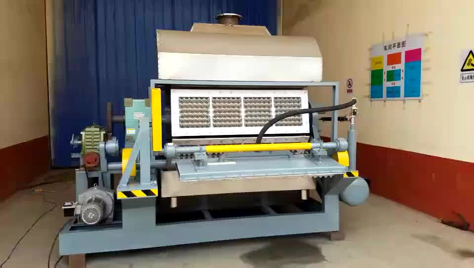 Beston semi-automatic egg tray cup holder machine for sale