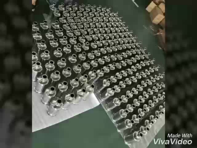 Edelstahl co2 Gas coalescing Filter mit PP filter patrone