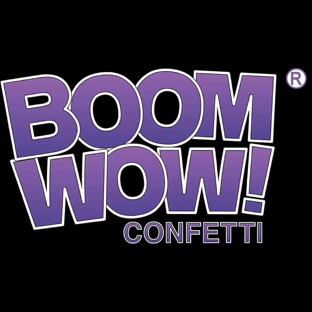 Boomwow Patente Novo Produto Ouro Rosa Azul Dupla Face Brilhante Saco de Confete Confetes De Papel A Granel
