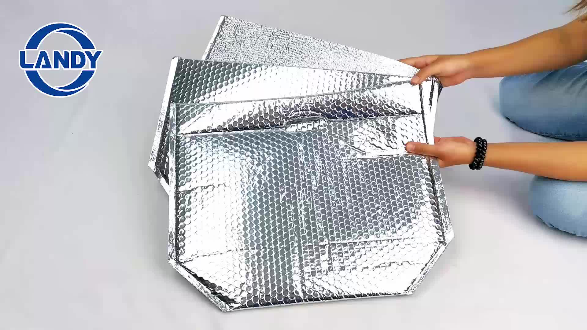 Aluminum foil thermal insulation insulated box liner cooler bag liner,Cold Shipping Packaging insulated cooler liner material