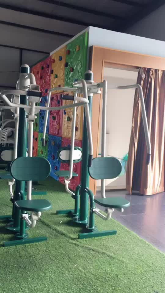 Duplo equipamento equipamentos de reabilitação perna rua treino